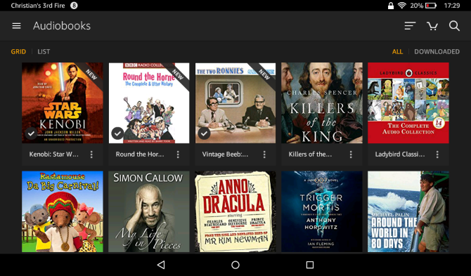 Your Unofficial Amazon Fire Tablet Manual muo android amazonfireguide audiobooks library
