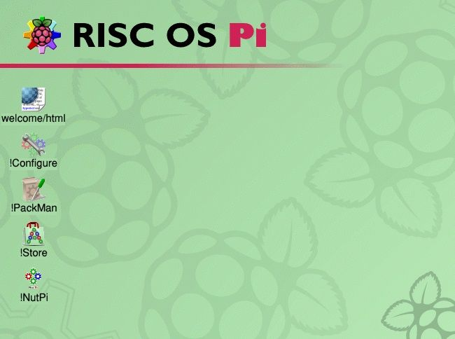 raspberry pi operating systems that aren't linux