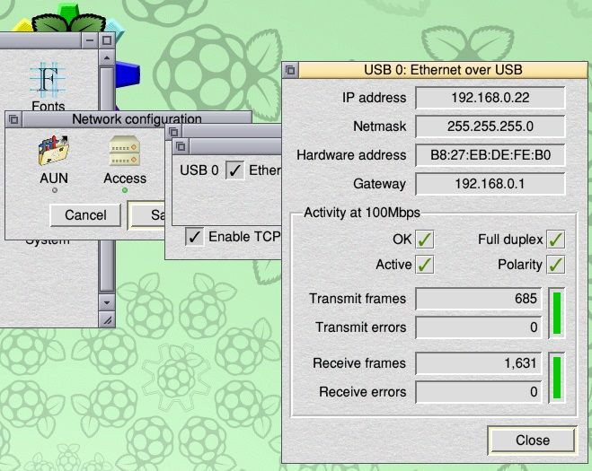 risc os network