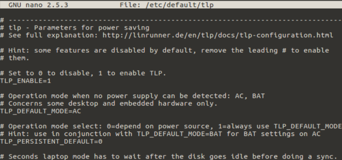 7 Simple Tips to Improve Your Linux Laptop's Battery Life muo linux laptop battery tlp config