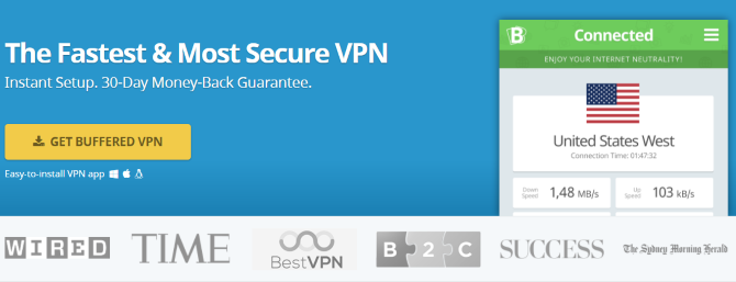 gaming vpns buffered