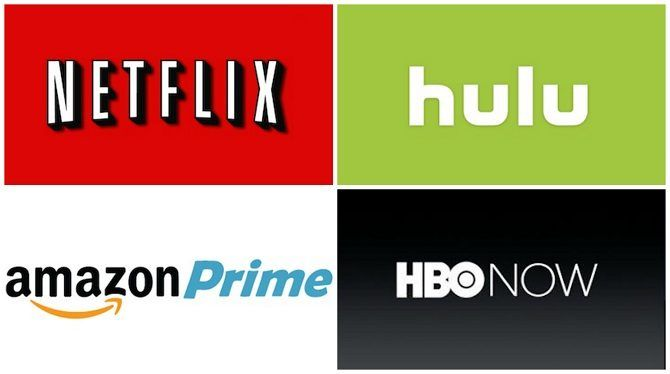 netflix hulu amazon prime hbo now