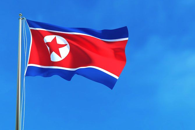 Your Guide to the International Web north korea flag 670x447