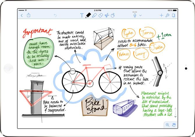 best apps to use with apple pencil