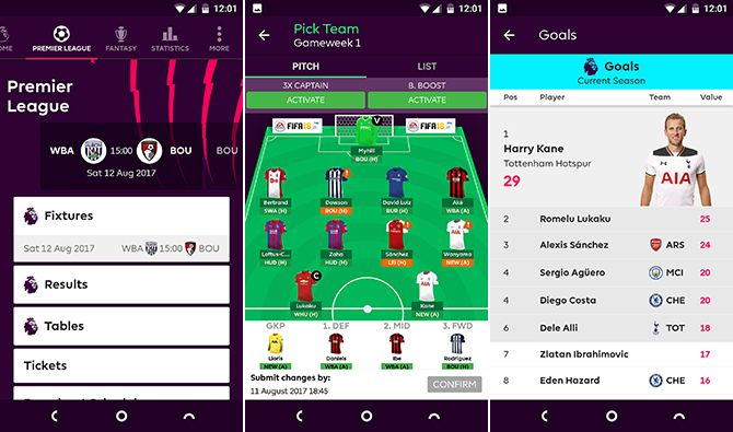 11 Best Android Apps for Following the New EPL Season