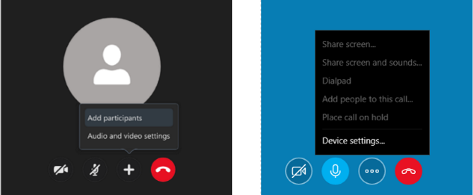 skype screen share options