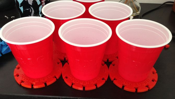 20 Awesome 3D Printing Ideas for Students and Dorm Rooms thingiverse pong supports