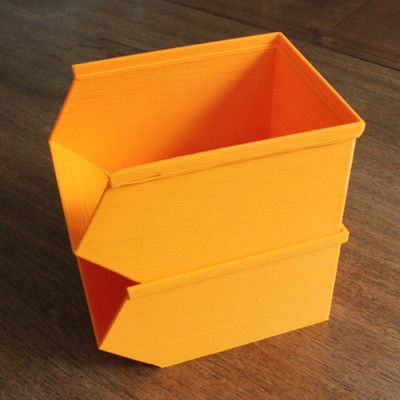 20 Awesome 3D Printing Ideas for Students and Dorm Rooms thingiverse stackable bins