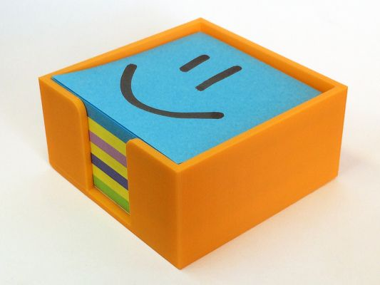 20 Awesome 3D Printing Ideas for Students and Dorm Rooms thingiverse sticky note holder