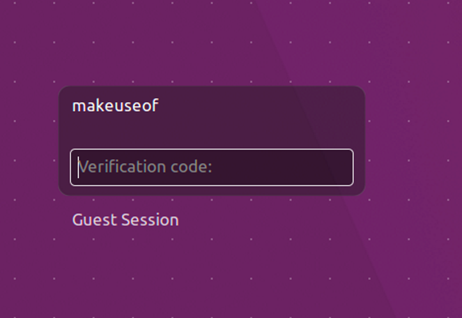ubuntu gauth login verification