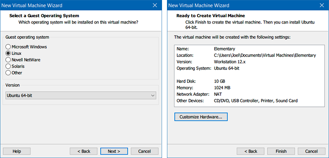 VirtualBox vs. VMware Player: The Best Virtual Machine for Windows vmware create virtual machine wizard