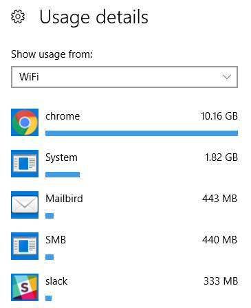 windows 10 app data