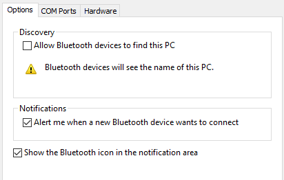 How to set up bluetooth on windows 10 windows 10 bluetooth advanced ccuart Gallery