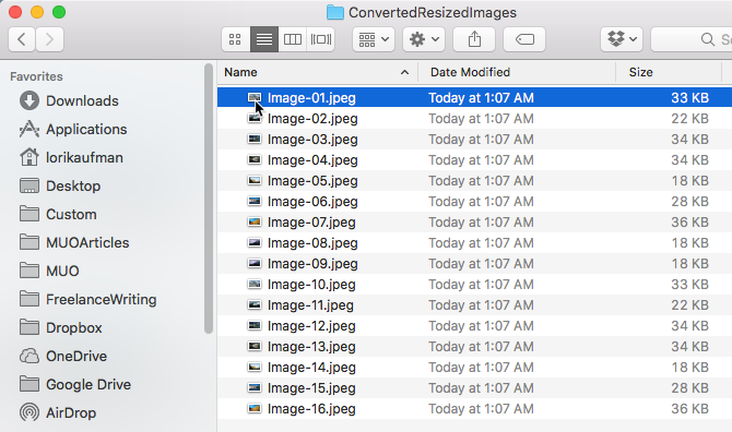 batch convert resize images mac preview