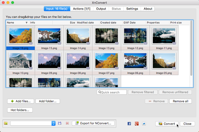 batch convert resize images mac xnconvert