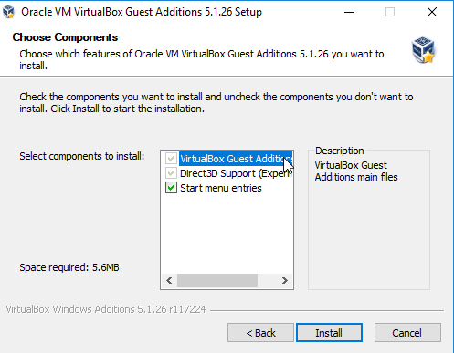 How to Use VirtualBox: User's Guide 23 VirtualBox Windows 10 Guest Additions Setup