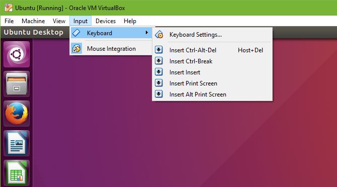 How to Use VirtualBox: User's Guide 36 VirtualBox Insert Key Combo