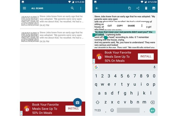 6 Best Android OCR Apps for Extracting Text From Images