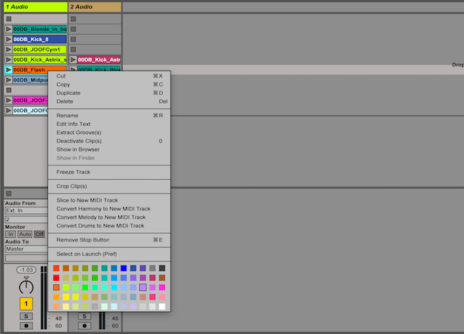 Ableton Live: The Ultimate Beginner's Guide Ableton Clip Color