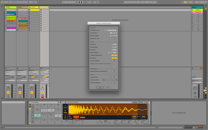 Ableton Live: The Ultimate Beginner's Guide Ableton Export