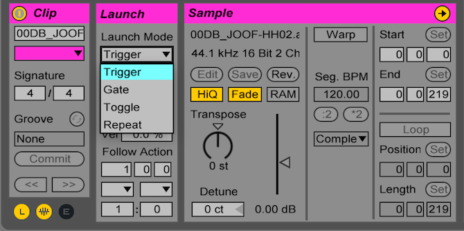 Ableton Live: The Ultimate Beginner's Guide Ableton Launch Modes