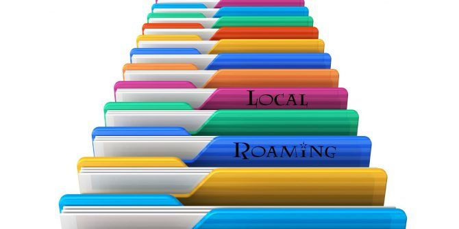 What's the Difference Between AppData Roaming and Local?