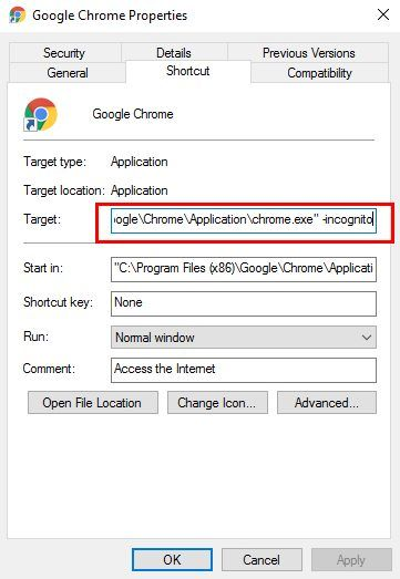How to Start Your Browser in Private Mode by Default Chrome Incognito e1505852394642