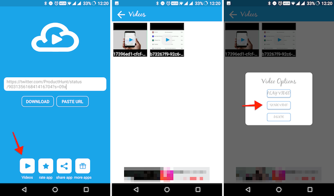 Download Videos from Facebook Instagram Twitter on Android 1