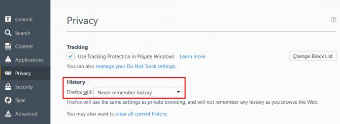 How to Start Your Browser in Private Mode by Default FF PrivateMode e1505853985400