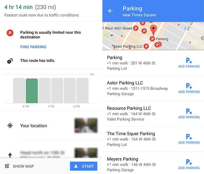 How to Find Parking Using Google Maps GoogleMaps Parking