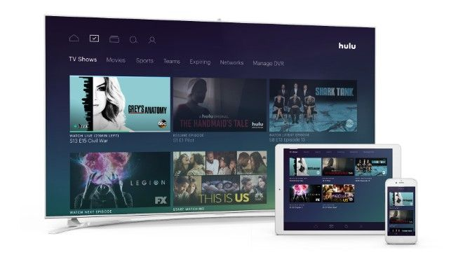 hulu plus on various devices