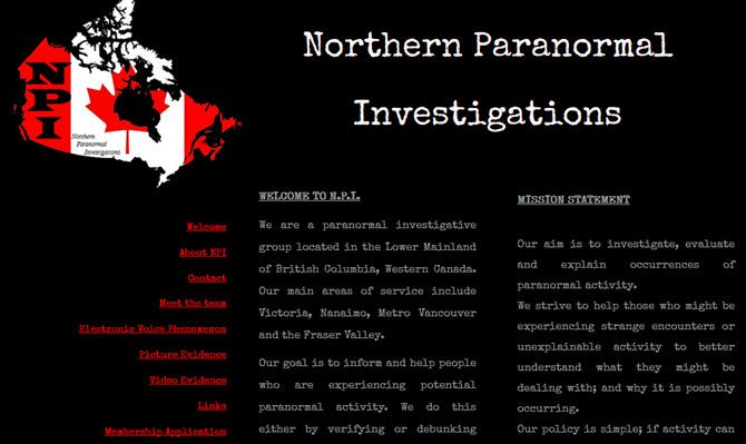 northern paranormal investigations