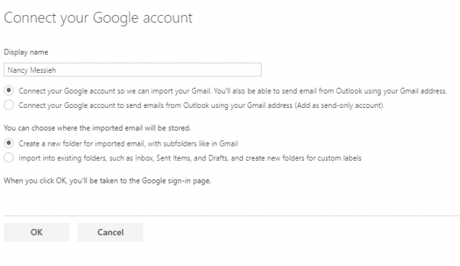 Combine Your Email Accounts Into a Single Inbox: Here's How Outlook Connect Gmail e1505755692377