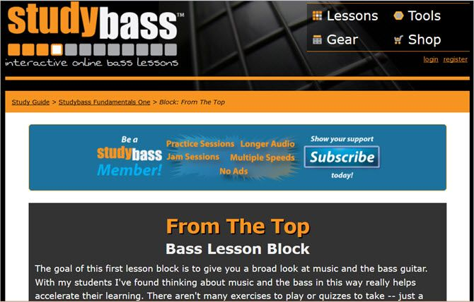 learn play bass