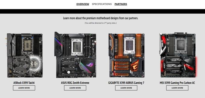 threadripper amd platform