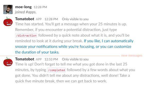 Best AI-powered productivity tools - Tomatobot