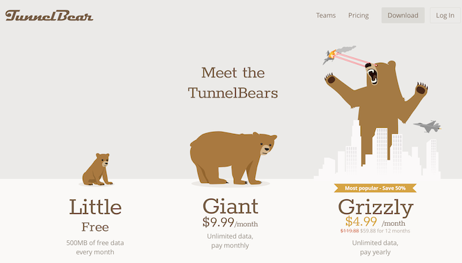 Your Guide to the International Web TunnelBear screenshot 670x381