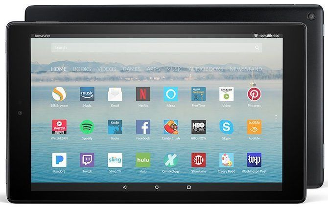 Buying the Amazon Fire HD 10? 10 Things You Need to Know amazon fire hd 10 mainscreen 670x423