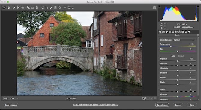 Learn Photo Editing in Photoshop: Get the Basics Down in 1 Hour camera raw