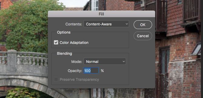 Learn Photo Editing in Photoshop: Get the Basics Down in 1 Hour content aware fill