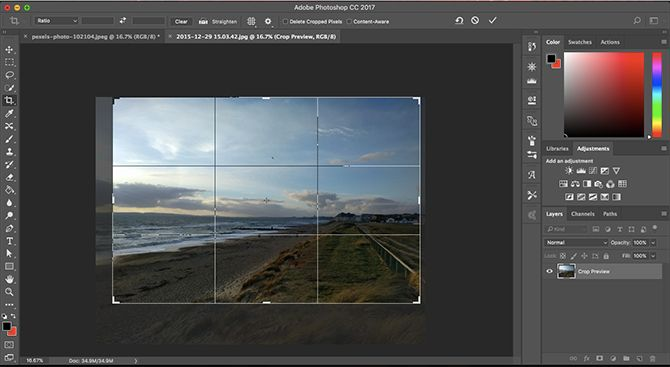 Learn Photo Editing in Photoshop: Get the Basics Down in 1 Hour crop