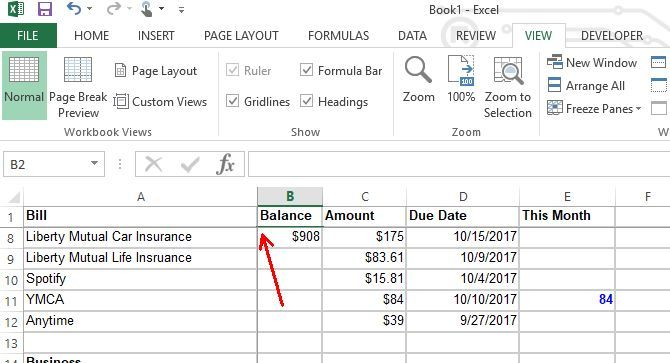 make a personal budget on excel in 4 easy steps excel budget3
