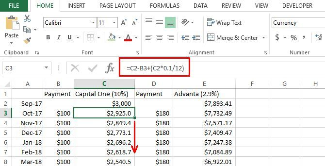 Make a Personal Budget on Excel in 4 Easy Steps excel budget7