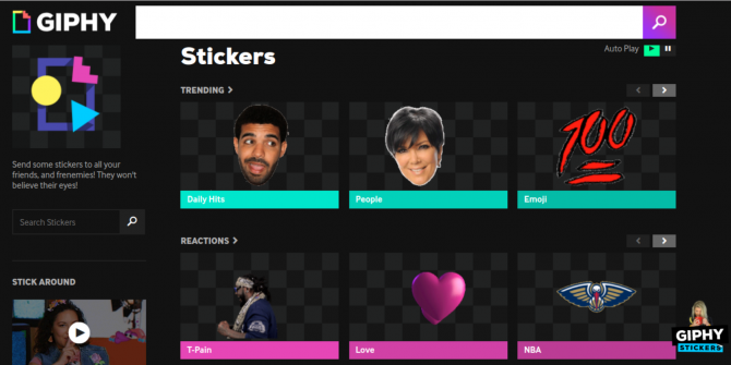 Giphy Stickers Let You Deface Your Favorite Websites