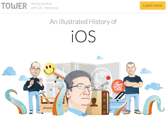 history of macos and ios