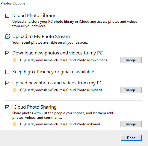 How to Access & Manage iCloud Drive Files from Any Device iCloud Windows Photos Settings