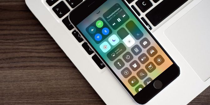 iphone terms - control center
