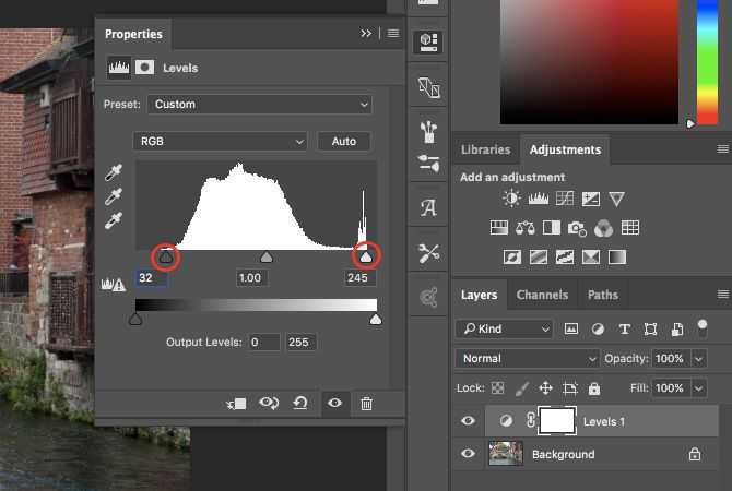 Learn Photo Editing in Photoshop: Get the Basics Down in 1 Hour levels