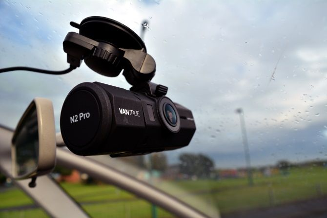 Vantrue N2 Pro Review: The Best Dashcam for Anyone muo hardwarereviews dashcam n2pro mounted2