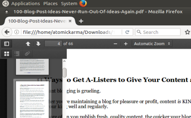 7 Best Linux PDF Viewers -- And Adobe Reader Is Just One Of Them muo linux pdf apps browser